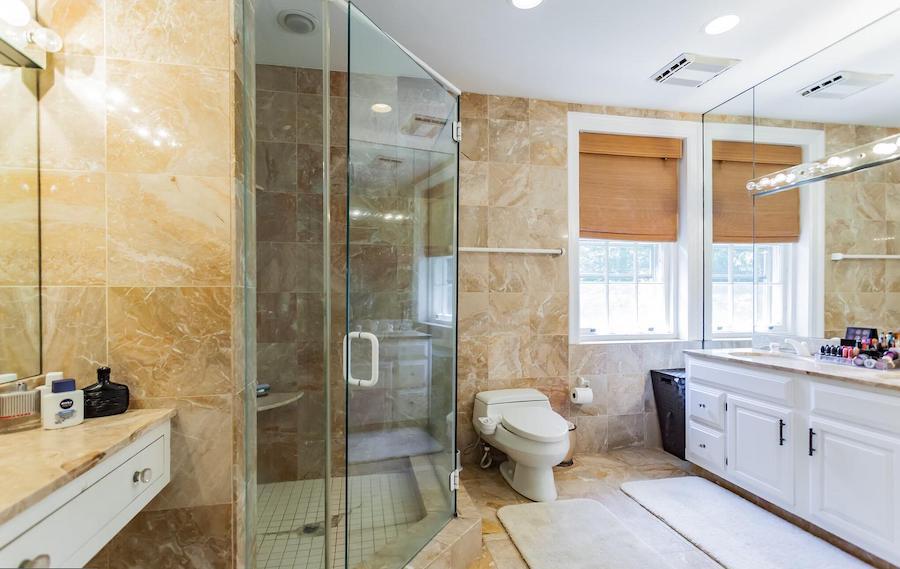 house for sale villanova french baroque manor master bathroom