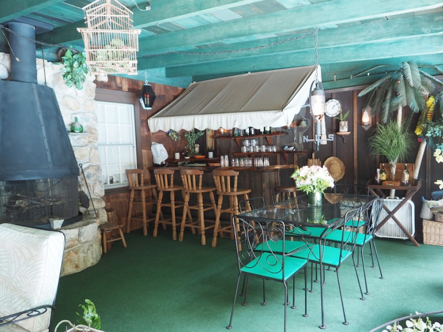 house for sale hatboro retreat covered patio and bar