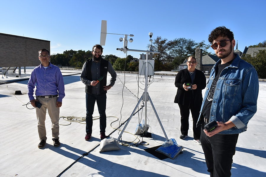 philadelphia air quality research team