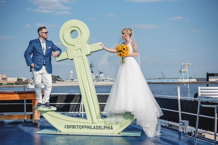 spirit of philadelphia bride and groom