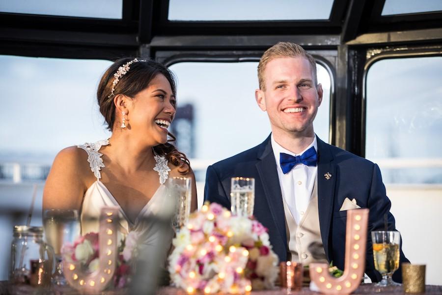 philadelphia boat wedding
