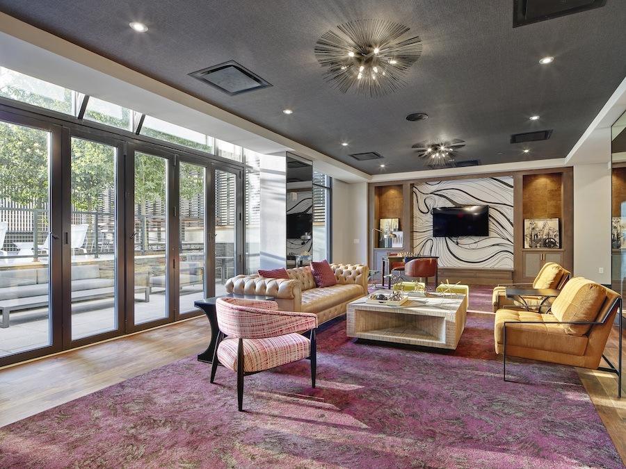 the harper apartment profile lounge