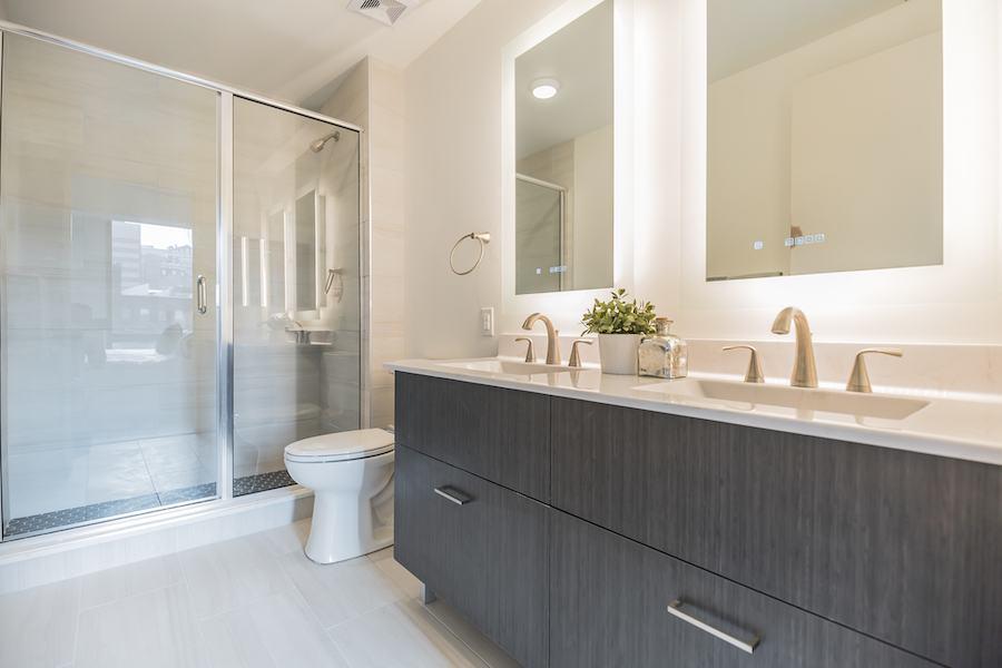 the harper apartment profile model 2br master bath