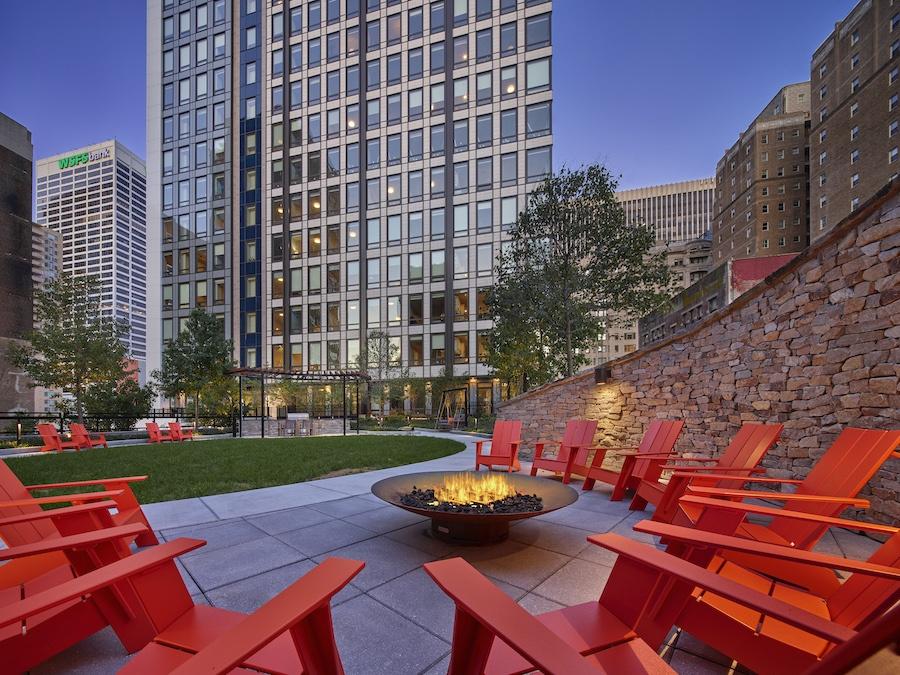 the harper apartment profile terrace upper level