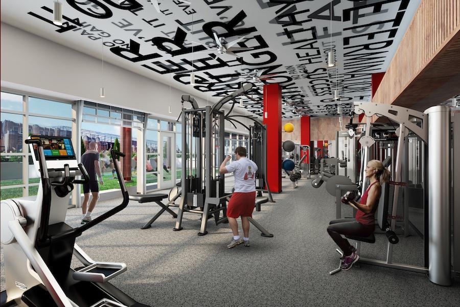 vantage apartment profile fitness center