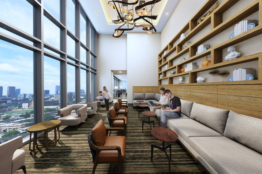 vantage apartment profile sky lounge