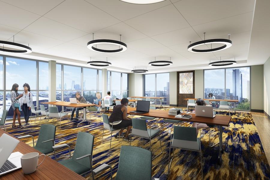 vantage apartment profile large study room