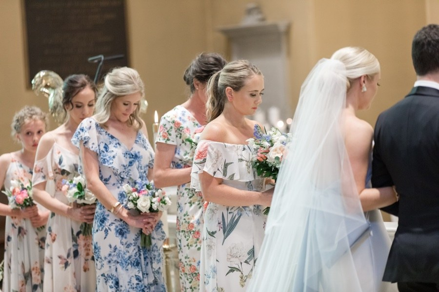 Old Saint Joseph's Church wedding