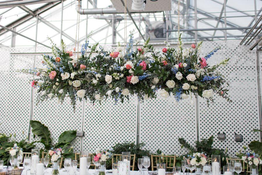 Fabufloras wedding installation