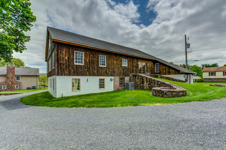 house for sale collegeville live-work-play farm bank barn