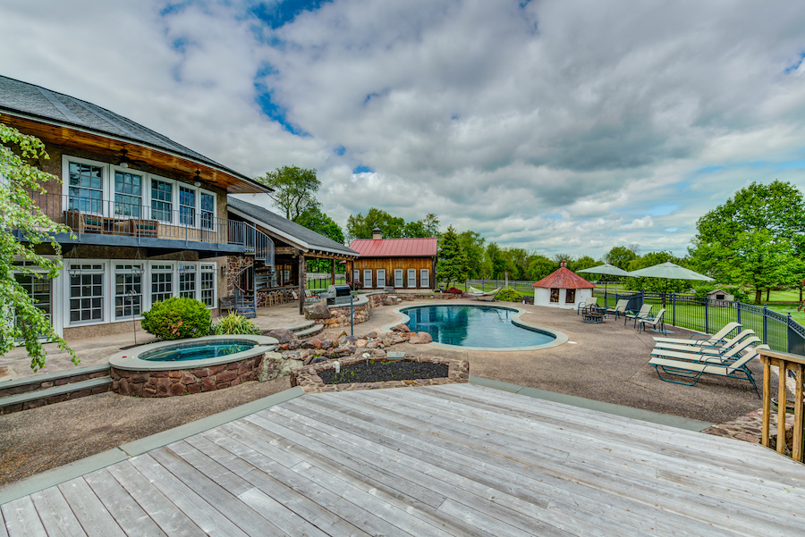 house for sale collegeville live-work-play farm backyard