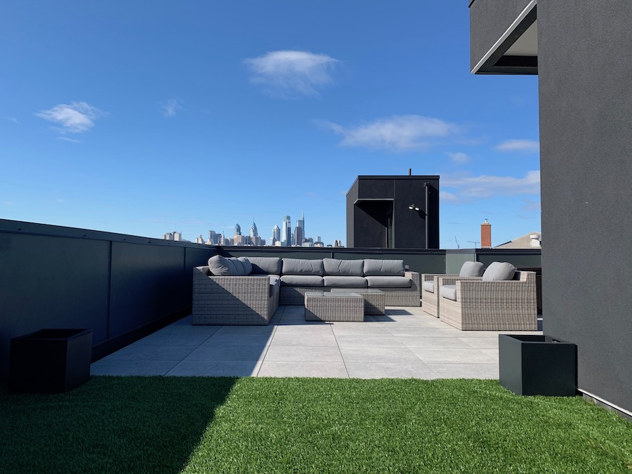 condo for sale fishtown modern industrial condo roof deck
