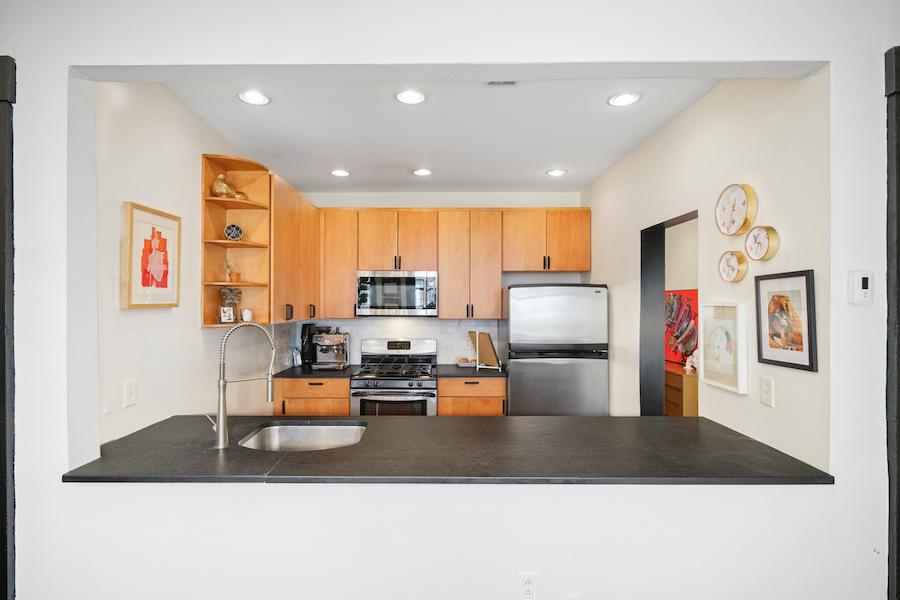 condo for sale wash west designer condo kitchen