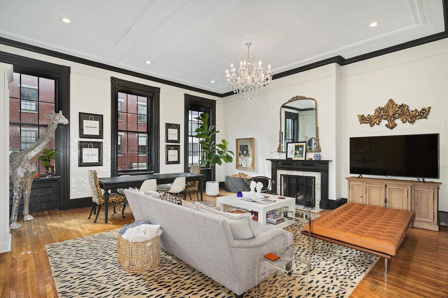 condo for sale wash west designer condo living-dining room