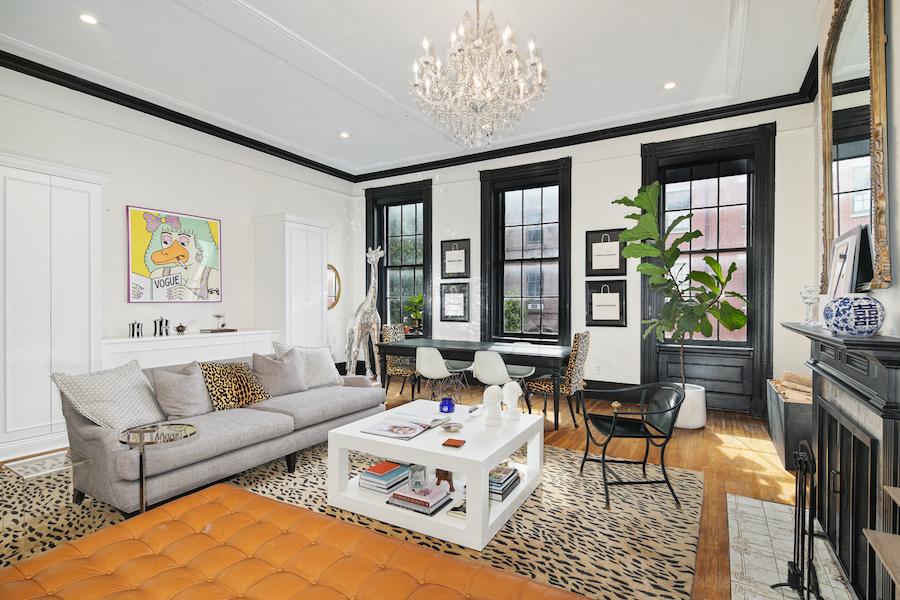 condo for sale wash west designer condo living room