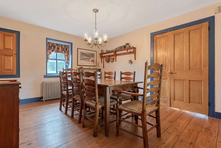 house for sale collegeville live-work-play farm dining room