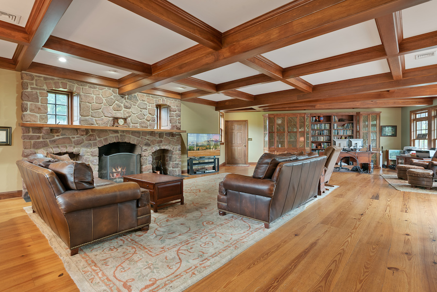 house for sale collegeville live-work-play farm great room