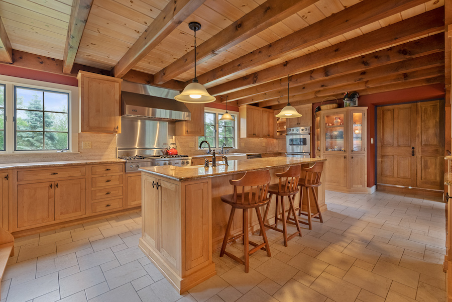 house for sale collegeville live-work-play farm kitchen