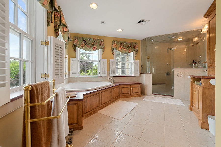 house for sale collegeville live-work-play farm maser bathroom