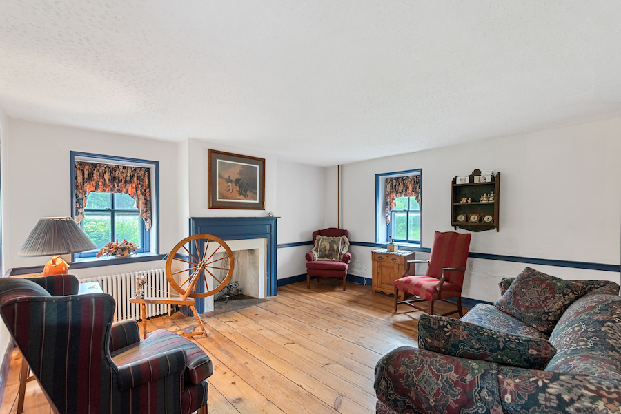 house for sale collegeville live-work-play farm living room