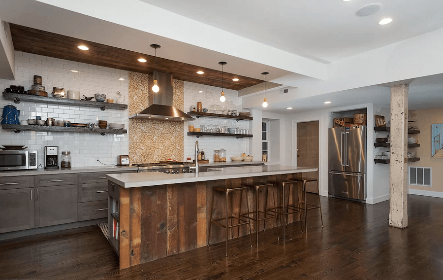 house for sale east falls carriage house retreat kitchen