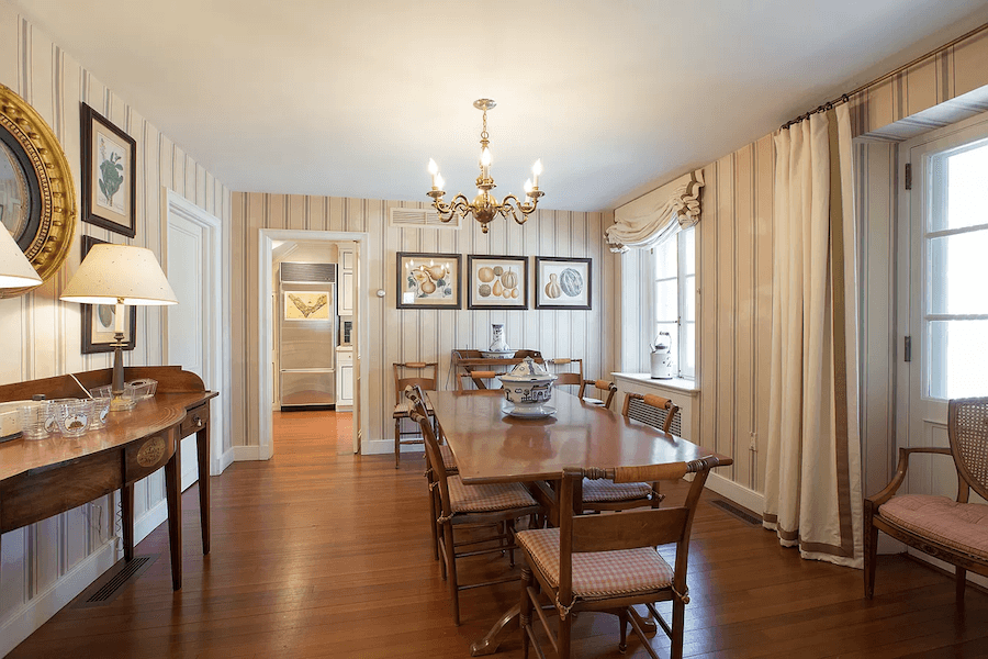 house for sale gladwyne french estate second guest house dining room