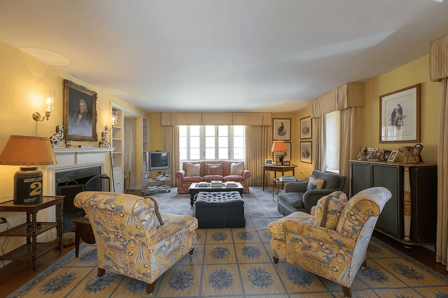 house for sale gladwyne french estate second guest house living room
