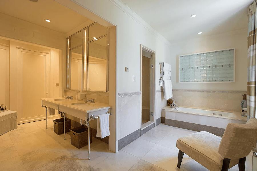 house for sale gladwyne french estate master bathroom