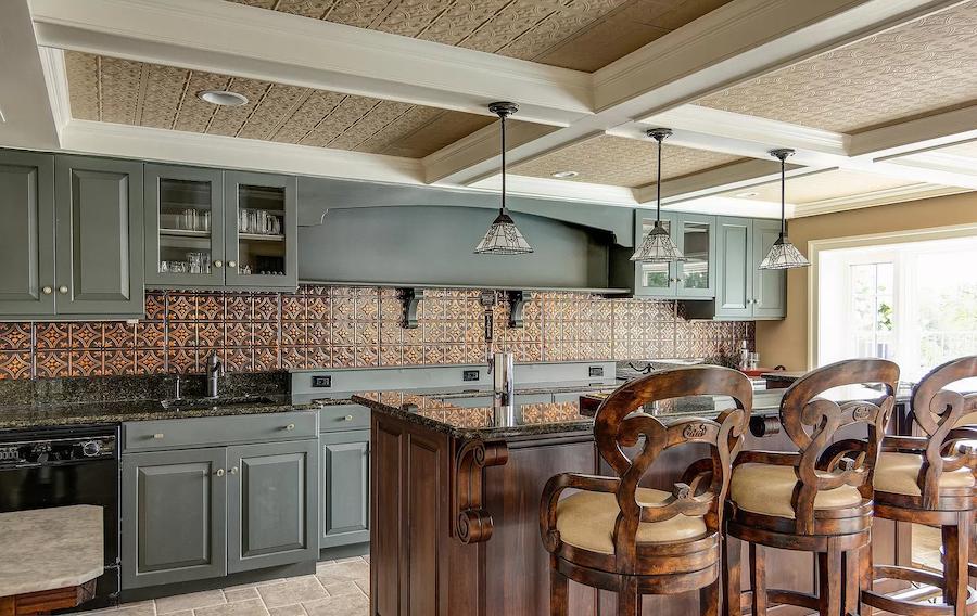 house for sale haddonfield tavistock tudor mansion basement kitchen