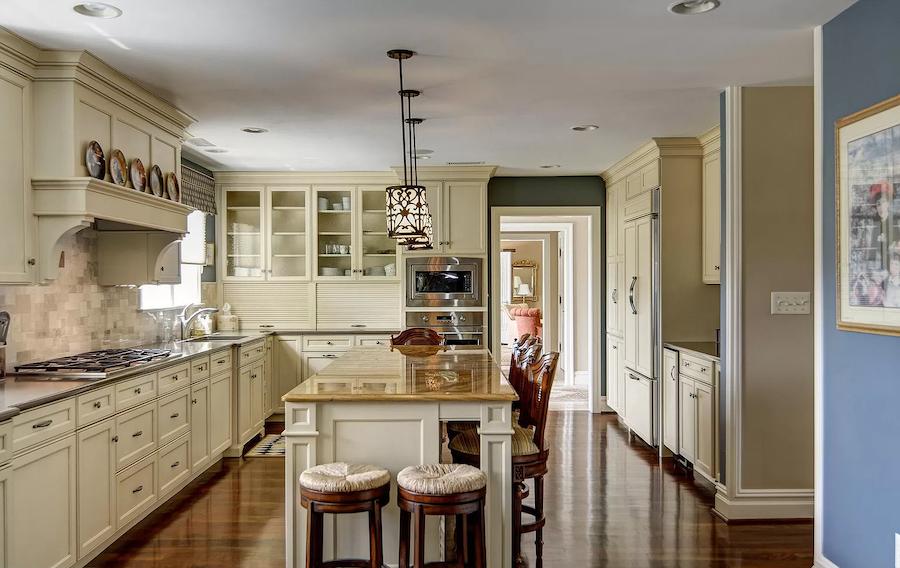 house for sale haddonfield tavistock tudor mansion kitchen