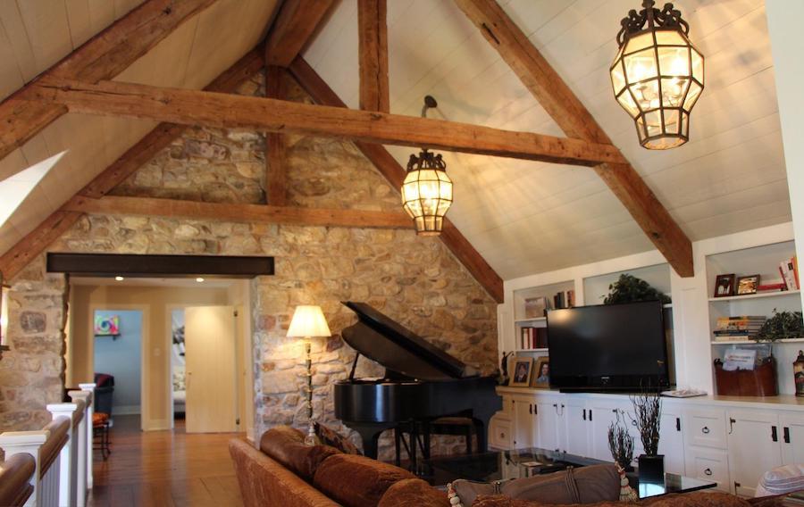 house for sale malvern modern medieval den