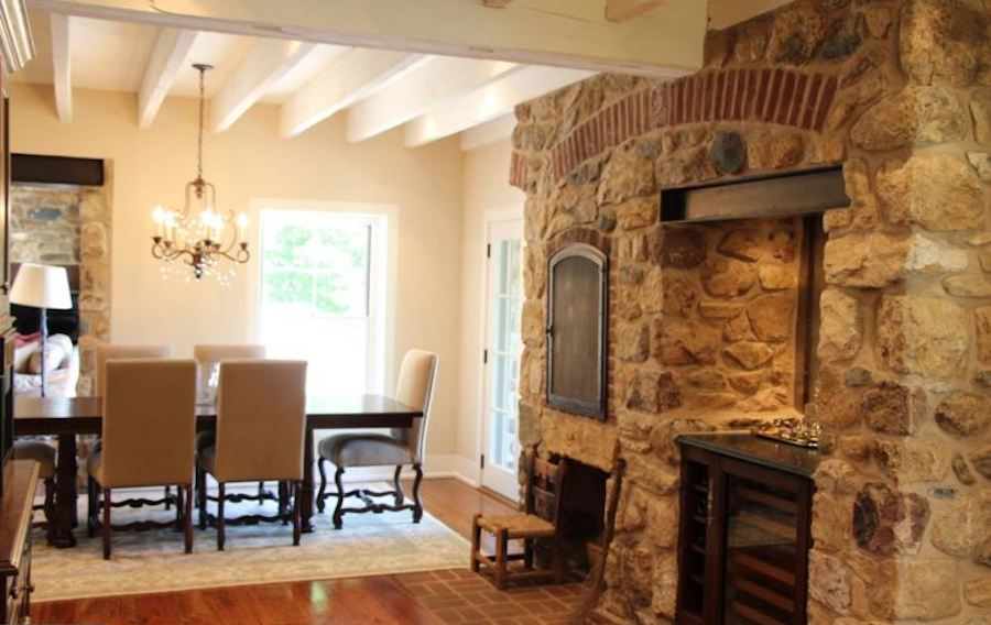house for sale malvern modern medieval dining room and bar