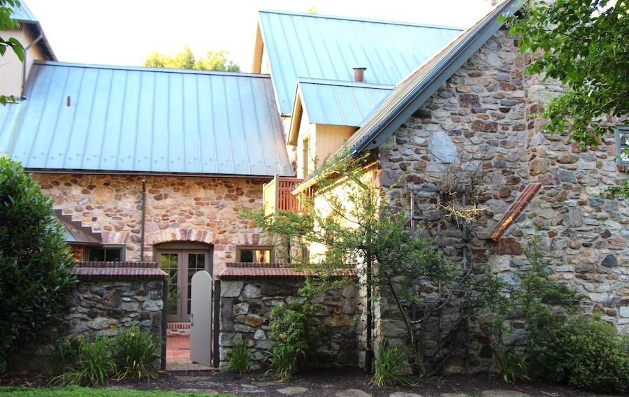 house for sale malvern modern medieval interior courtyard gate