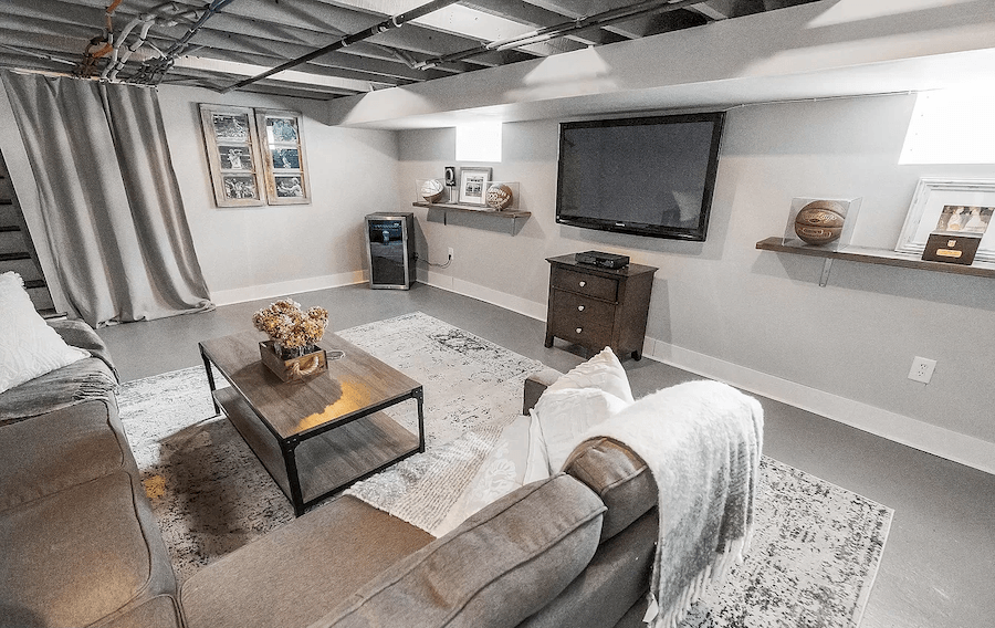 house for sale media renovated twin basement media room