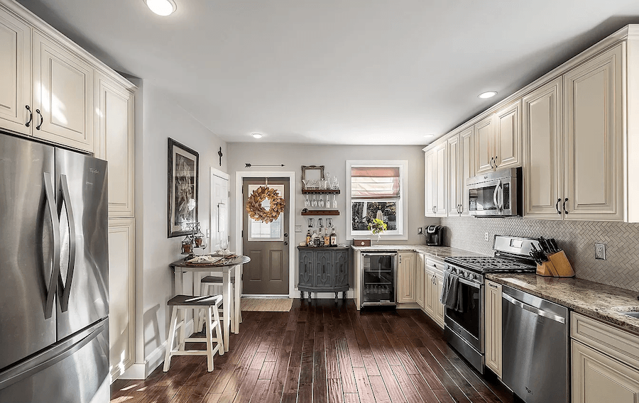 house for sale media renovated twin kitchen