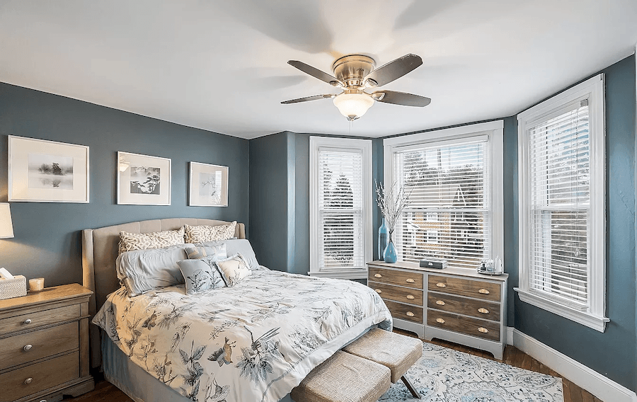 house for sale media renovated twin master bedroom