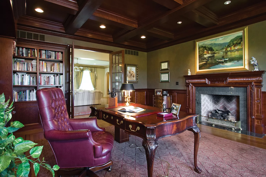 house for sale new hope rockwood farm estate house library
