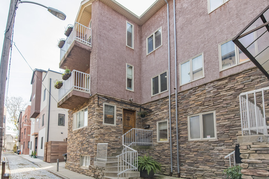 house for sale northern liberties designer townhouse exterior