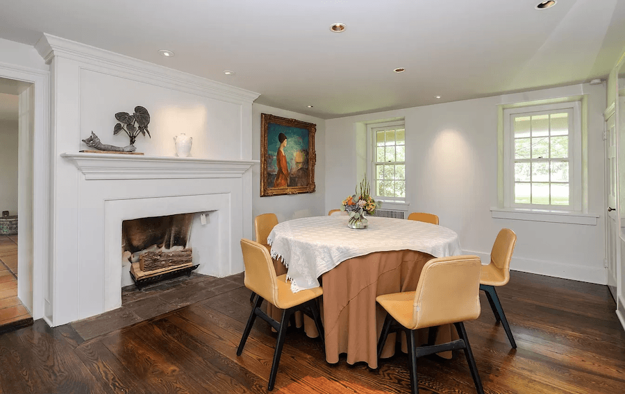 house for sale pipersville double datestone estate dining room