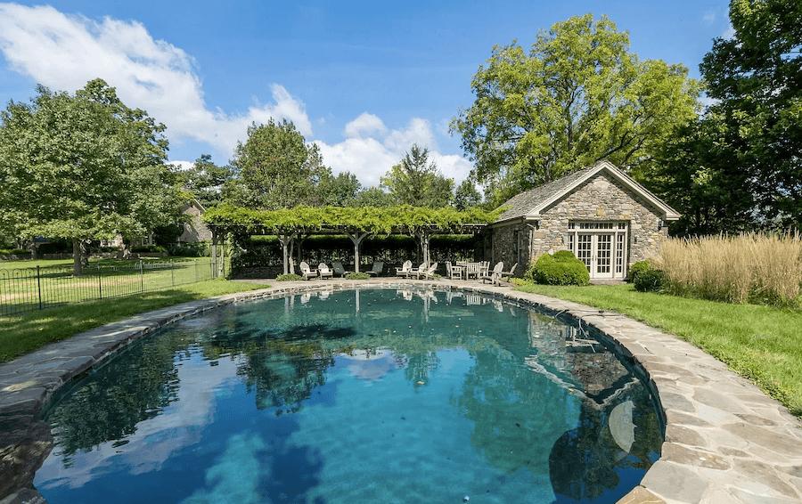 house for sale pipersville double datestone estate pool