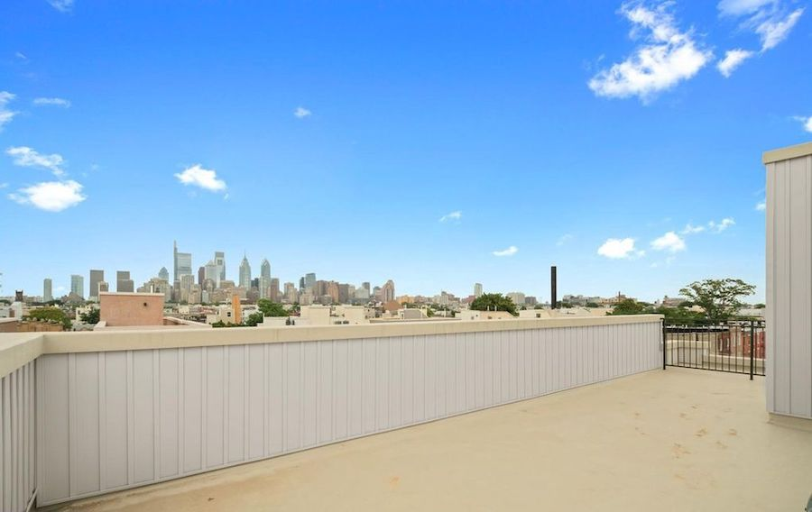 house for sale point breeze new construction townhouse roof deck