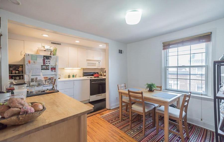house for sale rittenhouse duplex unit 2 dining-kitchen