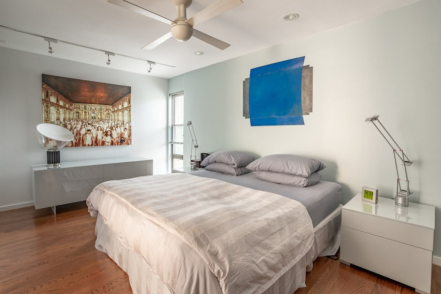 condo for sale society hill penn's landing square townhouse owner's bedroom