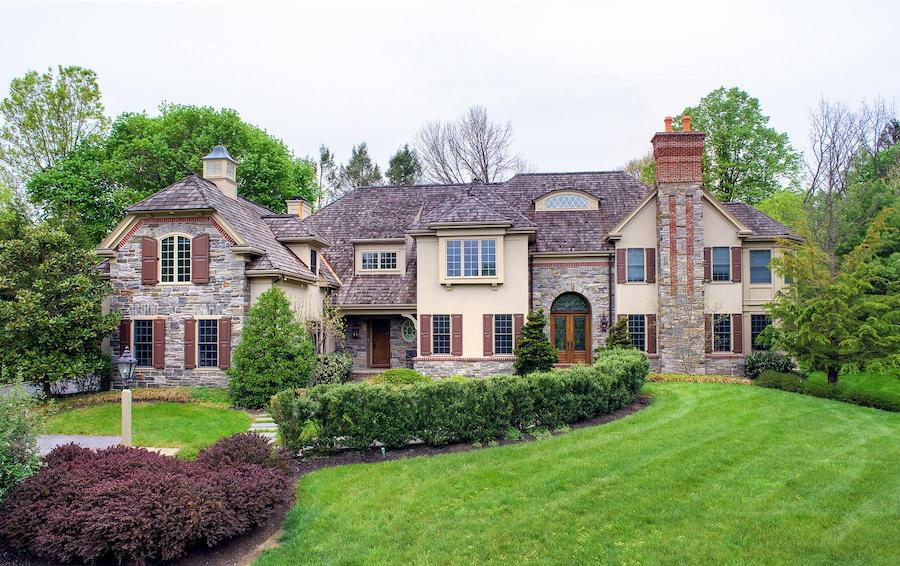 house for sale wayne french colonial