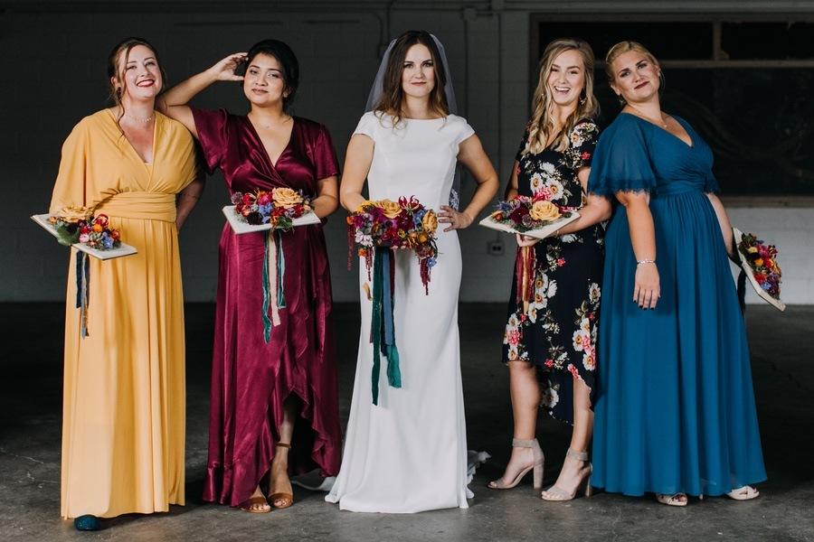 jewel-tone-bridesmaid-dresses