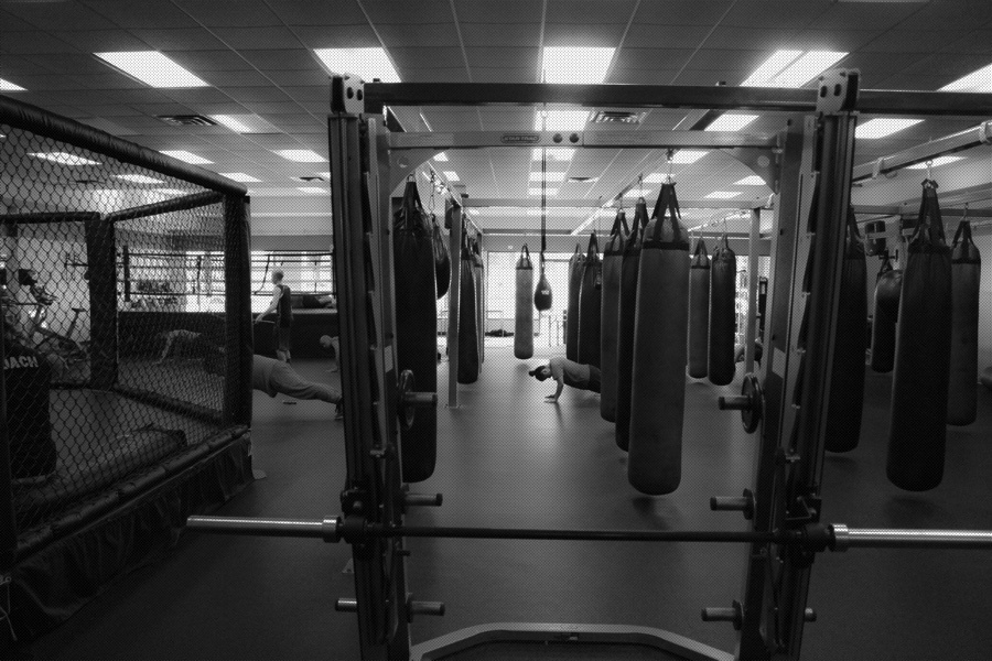 old-school boxing gyms