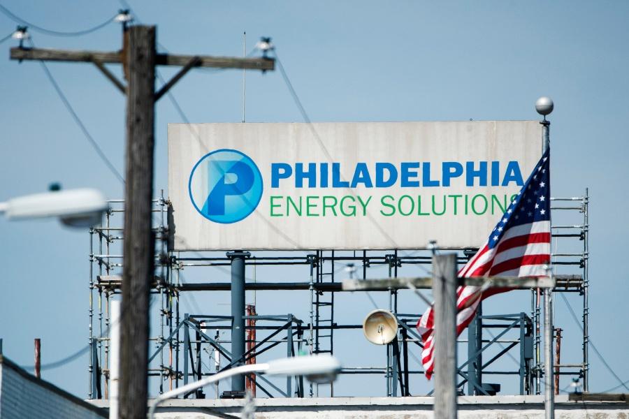 Philadelphia Energy Solutions refinery complex