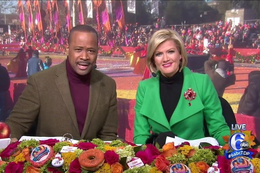 Rick Williams Cecily Tynan Philadelphia Thanksgiving Day Parade
