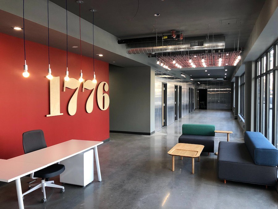 the hub at 31 brewerytown apartment profile 1776 co-working lobby