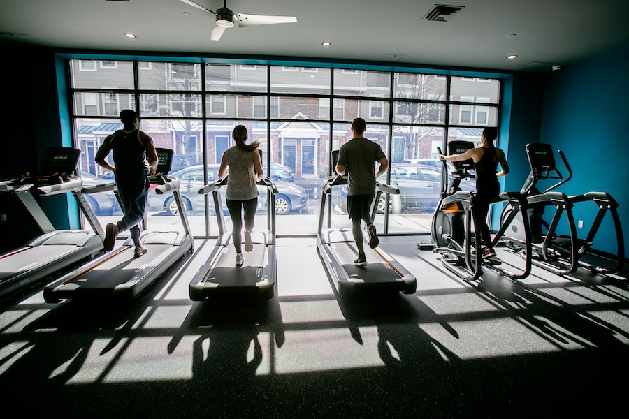 the hub at 31 brewerytown apartment profile fitness center